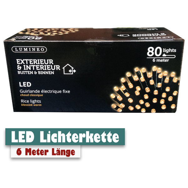 LED Lichterkette 6m